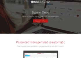 passwordconfession.truekey.com