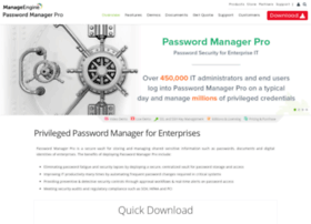 passwordmanagerpro.com