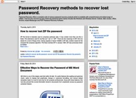 passwordrecoverysoftwares.blogspot.in