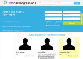 past-transgressions.com