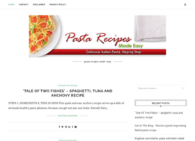 pasta-recipes-made-easy.com