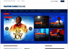 pastorchrisonline.org
