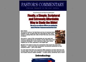 pastorscommentary.com