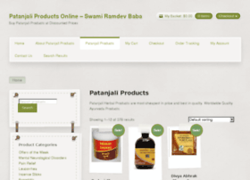 patanjaliproducts.net