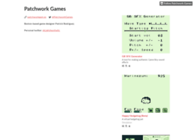 patchworkgames.itch.io