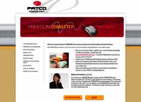 patcofreedomcard.org