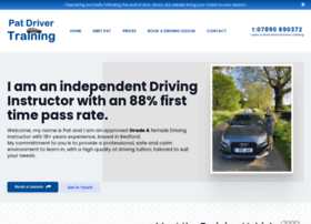 patdrivertraining.co.uk