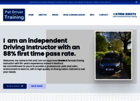 patdrivertraining.co.uk