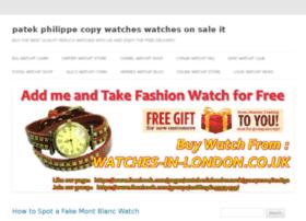 patek-philippe-copy-watches.watchesonsale.it