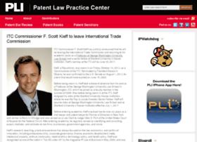 patentlawcenter.pli.edu