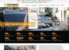 pathankottaxiservice.com