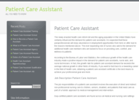 patientcareassistant.org