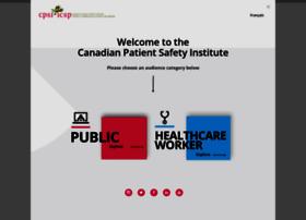 patientsafetyinstitute.ca