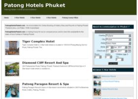 patonghotelsphuket.com