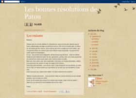 patou-resolutionregime.blogspot.com