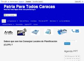 patriaparatodos.com.ve
