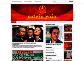 patriaroja.org.pe
