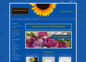 patriciamayflorist.co.uk