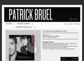 patrickbruel.sonymusic.fr