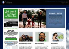 patriot-dental.com