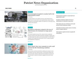 patriotnewsorganization.com