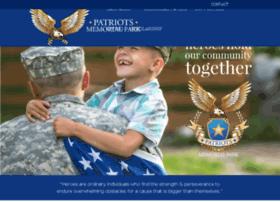 patriotsmemorialpark.org