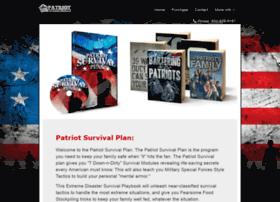 patriotsurvivalplan.net