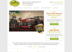 patsgarage.com