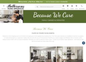 pattersonsappliances.com