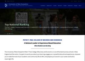 paulcollege.unh.edu