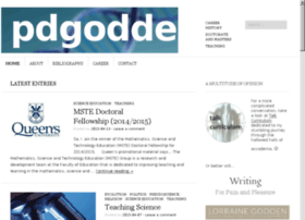 pauldgodden.com