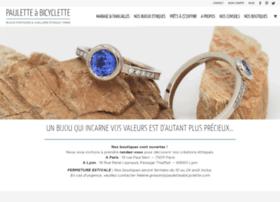 paulette-a-bicyclette.com