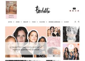 paulettemagazine.com