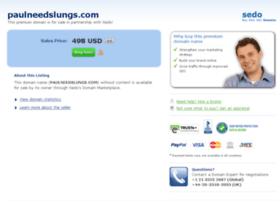 paulneedslungs.com