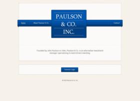paulsonco.com