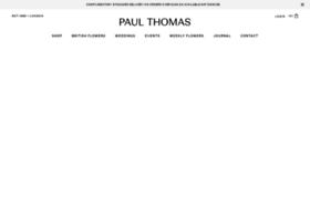 paulthomasflowers.co.uk