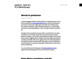 pawel.ch