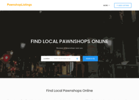 pawnshoplistings.com