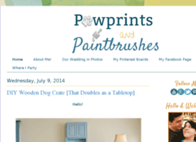 pawprintsandpaintbrushes.blogspot.com