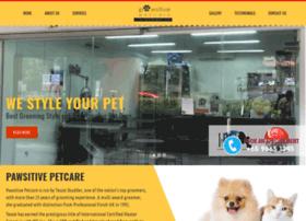 pawsitivepetcare.com.sg