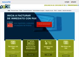 paxfacturacion.com.mx