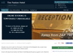 paxton-port-elizabeth.hotel-rez.com