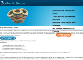 pay.monthly.loans.3monthloans.org