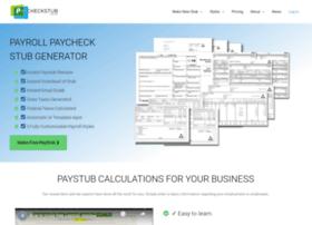 Paycheckstubonline.com