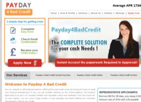 payday4badcredit.co.uk