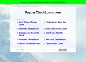 paydaycheckloans.com