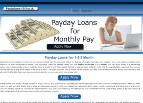 paydayloans1-2-3.co.uk