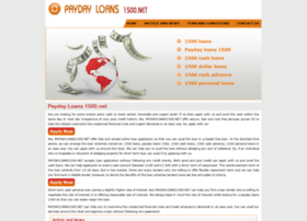paydayloans1500.net