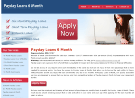 paydayloans6month.co.uk