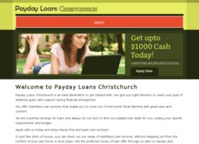 paydayloanschristchurch.co.nz